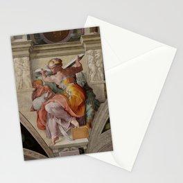 "Michelangelo ""The Libyan Sibyl"" Stationery Cards"
