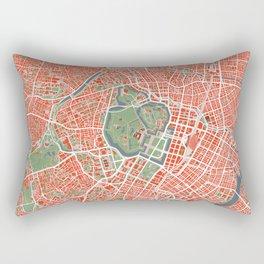 Tokyo city map classic Rectangular Pillow