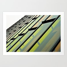 Vivid Windows Art Print