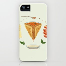 Grilled Cheese Mandala iPhone Case