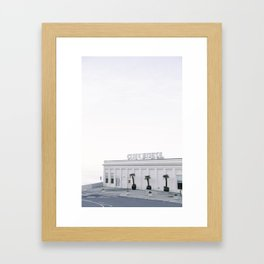 Calm Morning at the San Francisco Cliff House Framed Art Print