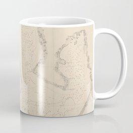 Vintage Map of Tampa Bay FL (1855) Coffee Mug