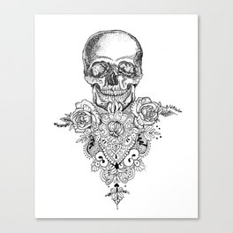 Sceleton Canvas Print