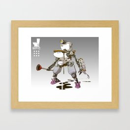 Toiletbots - Portabotty 9000 Framed Art Print