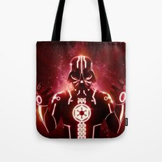 Tron Vader Red Tote Bag