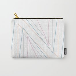 Intertwined Strength and Elegance of the Letter N Carry-All Pouch