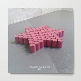 Variation Number 38 (photo) Metal Print