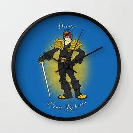 Dredd Pirate Roberts Wall Clock