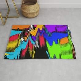 Mess Up Down Rug
