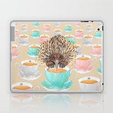 Echidna Drinking Tea Laptop & iPad Skin