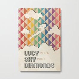 Lucy in the Sky with Diamonds Metal Print