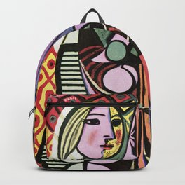 Pablo Picasso Girl before a Mirror 1932 Artwork Reproduction, Tshirts, Prints, Poster, Bags, Men, Wo Backpack
