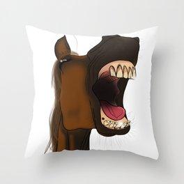 Cavalo Throw Pillow