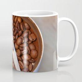 coffee beans and the coffee mill Coffee Mug