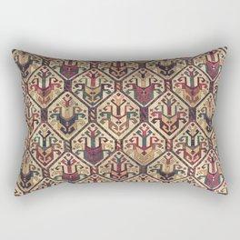 Kilim Fabric (Vintage) Rectangular Pillow