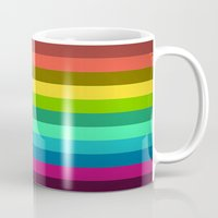 lab Mugs featuring Colors LAB  by Msimioni