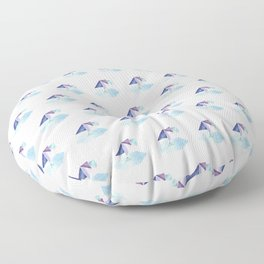 Pondering Pica Floor Pillow