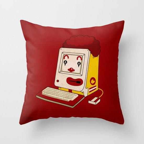 """""""MAC"""" Donalds Throw Pillow"""