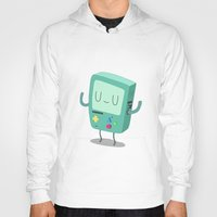 bmo Hoodies featuring BMO by Rod Perich