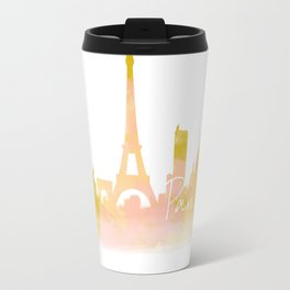 Paris in Peach Travel Mug