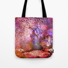 :: Peacock Party ::  by Gale Storm and Ganech Joe Tote Bag