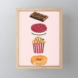 Love Sweets Framed Mini Art Print