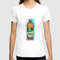 ale giorgini T-shirts featuring Genesee Cream Ale by Dorrie Rifkin Watercolors