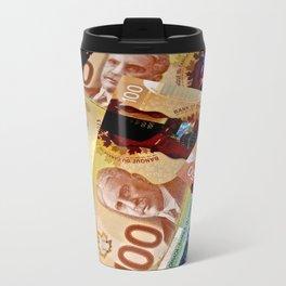 Money Metal Travel Mug