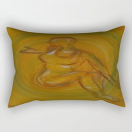 Mystic Yoga Rectangular Pillow