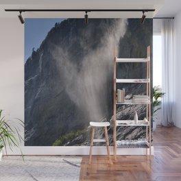 The Ghost. Lauterbrunnen Waterfalls. Alps. Switzerland Wall Mural