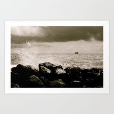 North sea Art Print