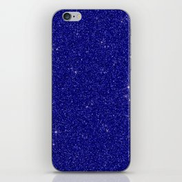 C13D Blue Glitter iPhone Skin