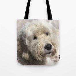 Dog Goldendoodle Golden Doodle Tote Bag