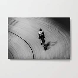 Coupe de France - Velodrome Nationale de France #7 Metal Print