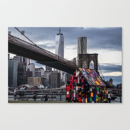 All About NYC Canvas Print
