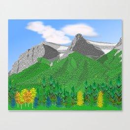 Mount Rundle (South Peaks) Canvas Print