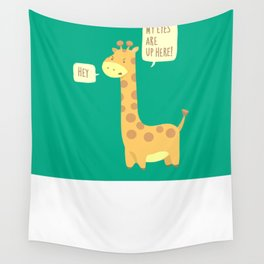 Giraffe problems! Wall Tapestry