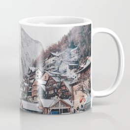 VILLAGE - COAST - MOUNTAINS - SNOW - PHOTOGRAPHY Coffee Mug