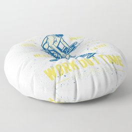 Rise And Shine Work Out Time Floor Pillow