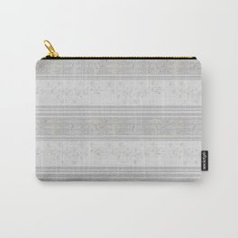 Grey stripes . Carry-All Pouch