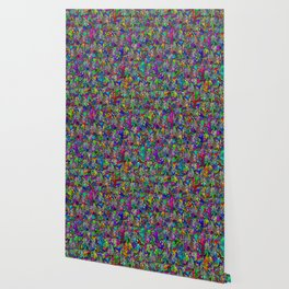 Drip Art Wallpaper
