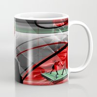 boxing Mugs featuring Boxing by Robin Curtiss