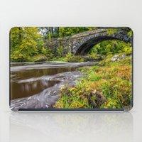 beaver iPad Cases featuring Beaver Bridge by Adrian Evans