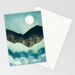 Moon Mist Stationery Cards