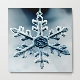 Snow Queen's Brooch Metal Print