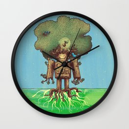 Re-Growth Wall Clock