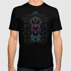 Pigeons Black MEDIUM Mens Fitted Tee