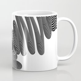 Wired in Black and White Coffee Mug