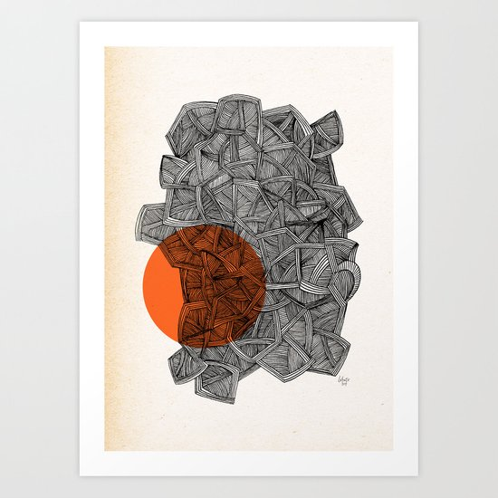 - paradox - Art Print