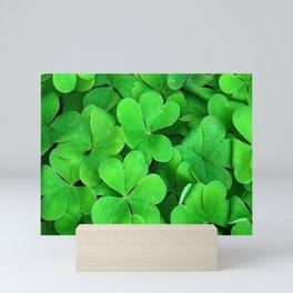 Lucky Four Leaf Clover Mini Art Print